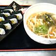 巻き寿司定食